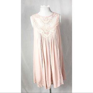 Target Crochet Dress Pink Small